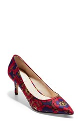 Cole Haan Vesta Pointy Toe Pump Chrystie Floral Fabric