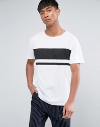Dr. Denim Dr Russ Striped T Shirt White