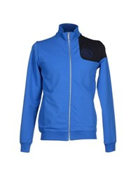 Bikkembergs Topwear Sweatshirts Men Blue