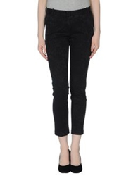 Heavy Project Casual Pants Black