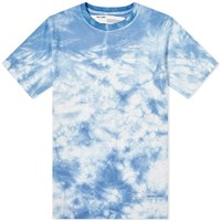 Off White End. X Chemical Wash Tee Blue
