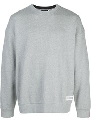 Mostly Heard Rarely Seen Fanatic Crewneck Sweatshirt Grey