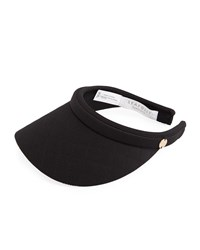 Seafolly Shady Lady Quilted Visor Black