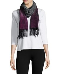 Lord And Taylor Ombre Paisley Cashmere Scarf Neutral