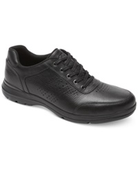 Rockport City Play Perforated Ubal Sneakers Men's Shoes Black