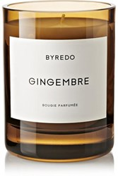 Byredo Gingembre Scented Candle Orange