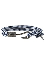 Icon Brand Bracelet Navy Blue