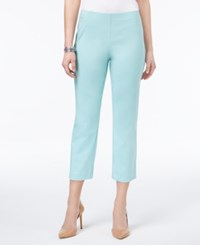 Style And Co Pull On Capri Pants Only At Macy's Aqua Brook