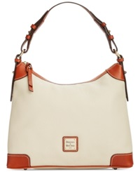 Dooney And Bourke Pebble Hobo Bone