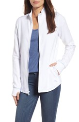 Tommy Bahama Women's Jen And Terry Full Zip Top White Fresh Air
