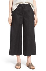 Eileen Fisher Women's Organic Linen Crop Pants