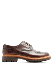 Grenson Archie Leather Brogues Brown