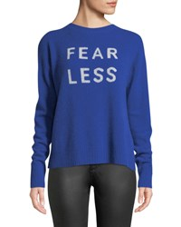 360 Sweater Fear Less Cashmere Pullover Royal