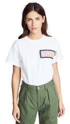 Michaela Buerger Love Patch Tee White