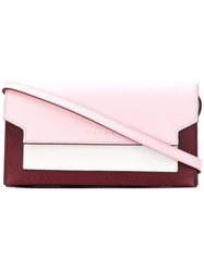 Marni Tri Coloured Wallet Pink