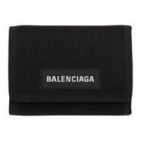 Balenciaga Black Explorer Wallet