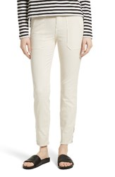 Vince Women's Skinny Military Pants Bleached
