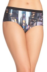 Naja Women's Lingerie Stretch Cotton Briefs New York City