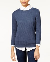 Maison Jules Three Quarter Sleeve Pullover Sweater Only At Macy's