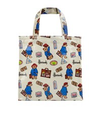 Harrods Small Paddington Bear Shopper Bag Unisex