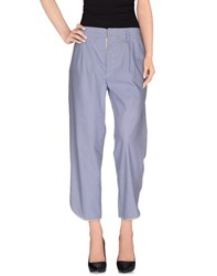 Jejia Trousers 3 4 Length Trousers Women Blue