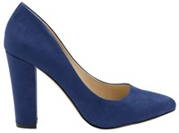 Ravel Hazelton Block Heeled Shoes Blue