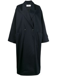 Closed Oversized Coat Blue
