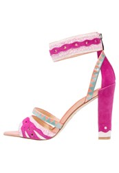 Katy Perry The Kay High Heeled Sandals Fuschia Pink