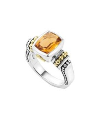 Lagos Caviar Color 10Mm Citrine Ring