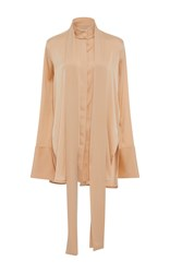 Ellery Pussy Bow Shirt Nude