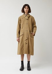 Chimala Us Army Single Trench Coat Beige