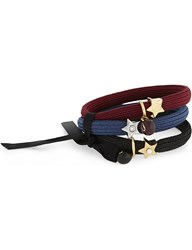 Marc Jacobs Star Icon Hair Band Cluster Midnight Blue