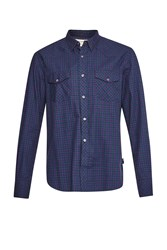 French Connection Men's Eddie Checked Shirt Green