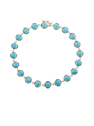 Irene Neuwirth Turquoise And Yellow Gold Bracelet