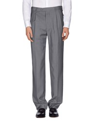 Maestrami Trousers Casual Trousers Men Grey