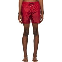 Moncler Red Mare Swim Shorts