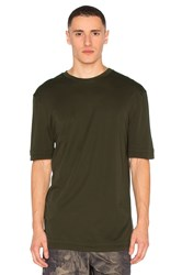 Helmut Lang Double Layer Tee Olive