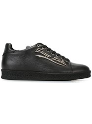 Philipp Plein Logo Plaque Sneakers Black