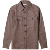 Tres Bien Box Overshirt Purple