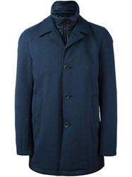 Herno Button Down Sport Jacket Blue