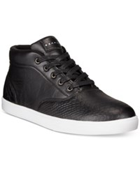 Sean John Python Mid Sneakers Men's Shoes Black