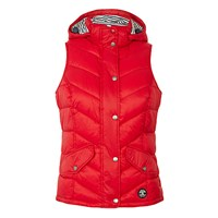 Barbour Forland Quilted Gilet Red