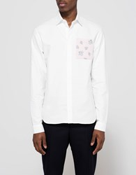J.W.Anderson Patch Pocket Classic Fit Shirt White