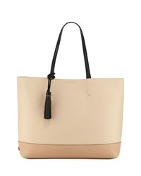 Cole Haan Pinch Leather Tote Bag Nude