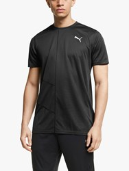 Puma Ignite Short Sleeve Training Top Black