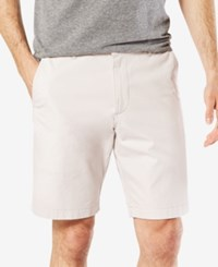Dockers Slim Fit Patterned 9 Stretch Shorts Marble