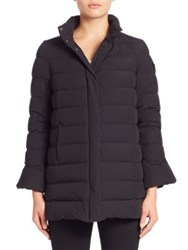 Peuterey Fuscello Bell Sleeve Down Jacket Nero