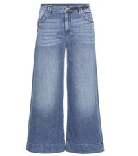 7 For All Mankind Culotte Jeans Blue