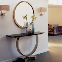 Villiers Omega Console Table Bronze