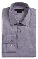 John Varvatos Men's Star Usa Regular Fit Dress Shirt Purple